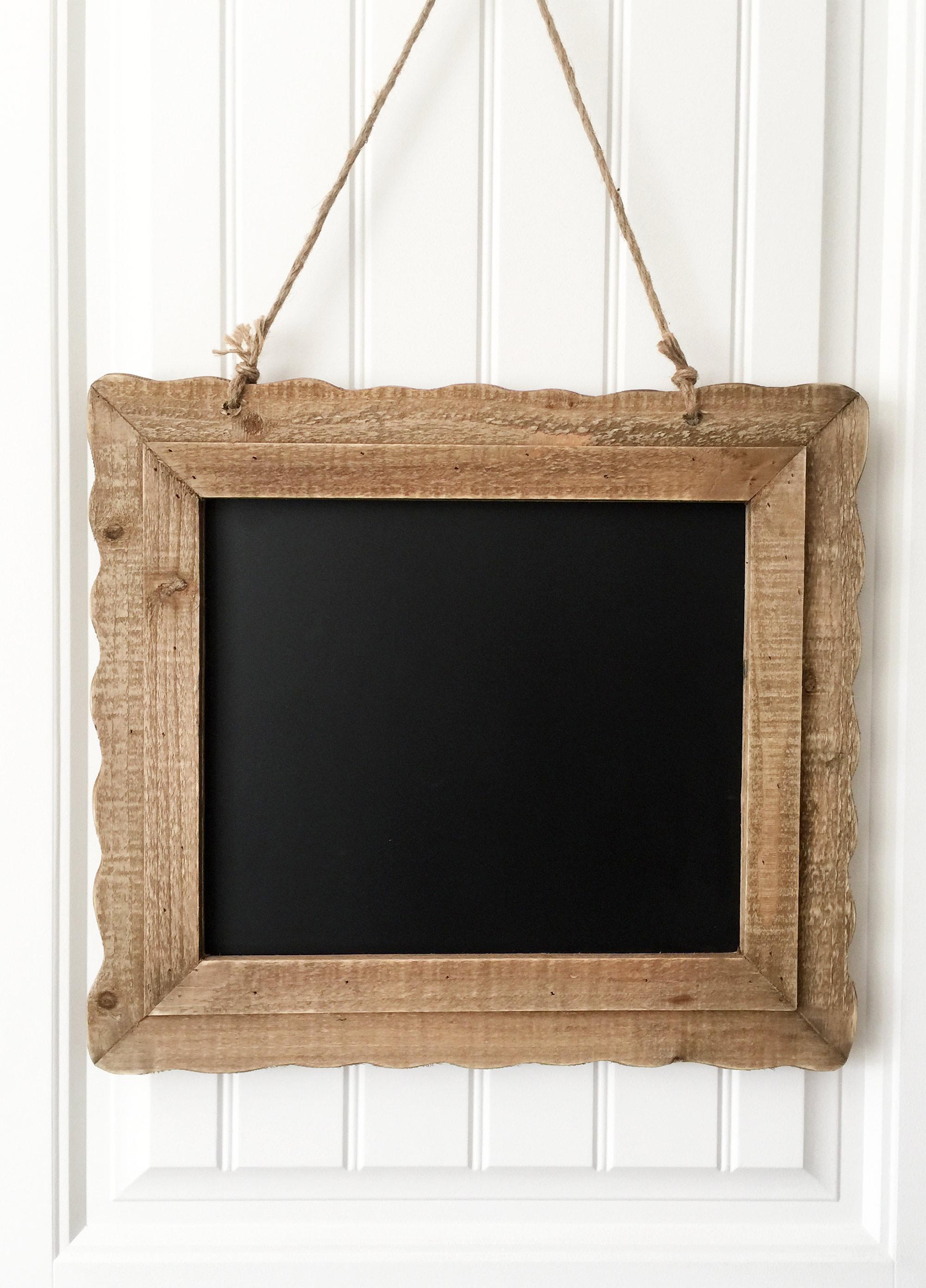 Farmhouse Framed Chalkboard